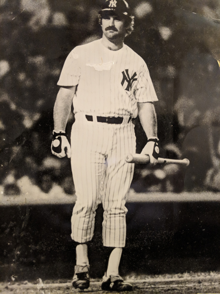 Thurman Munson, captain of the Yankees and key player in their historic comeback.