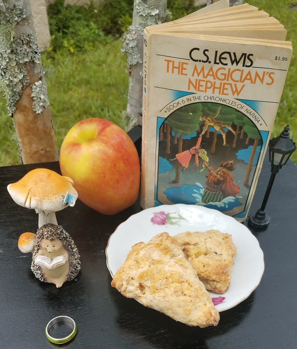 """The Magician's Nephew"" Book Discussion and Apple Scones Themed Recipe"