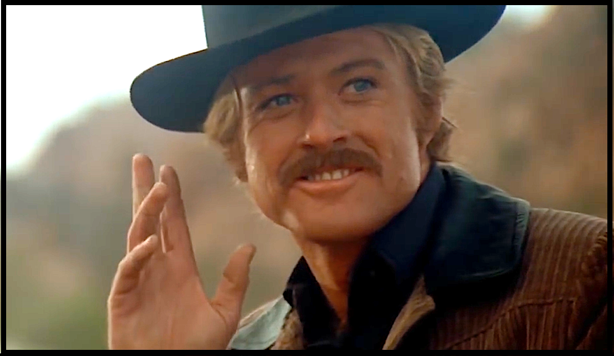"Robert Redford became an international sex symbol after playing the ""Sundance Kid."""
