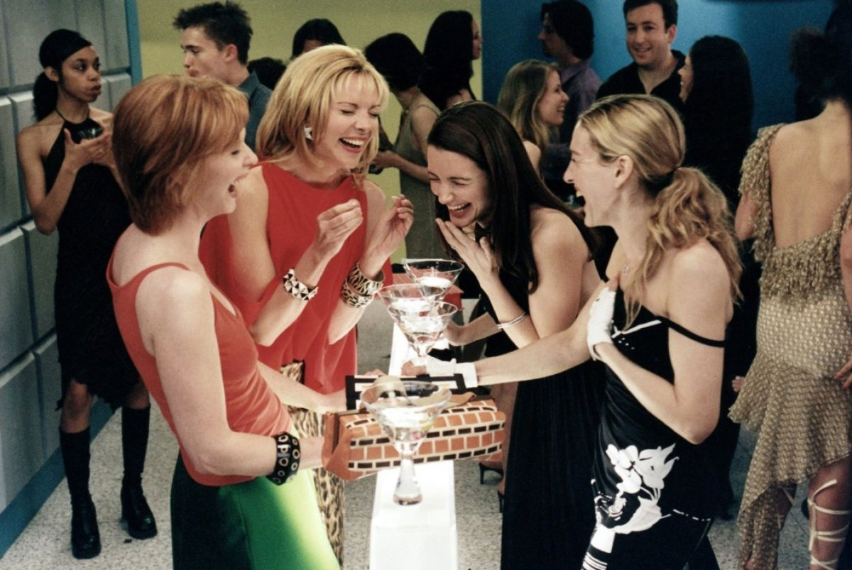 The Ladies of Sex and the City: From Left: Cynthia Nixon (Miranda Hobbes), Kim Cattrall (Samantha Jones), Kristin Davis (Charlotte York) and Sarah Jessica Parker (Carrie Bradshaw).