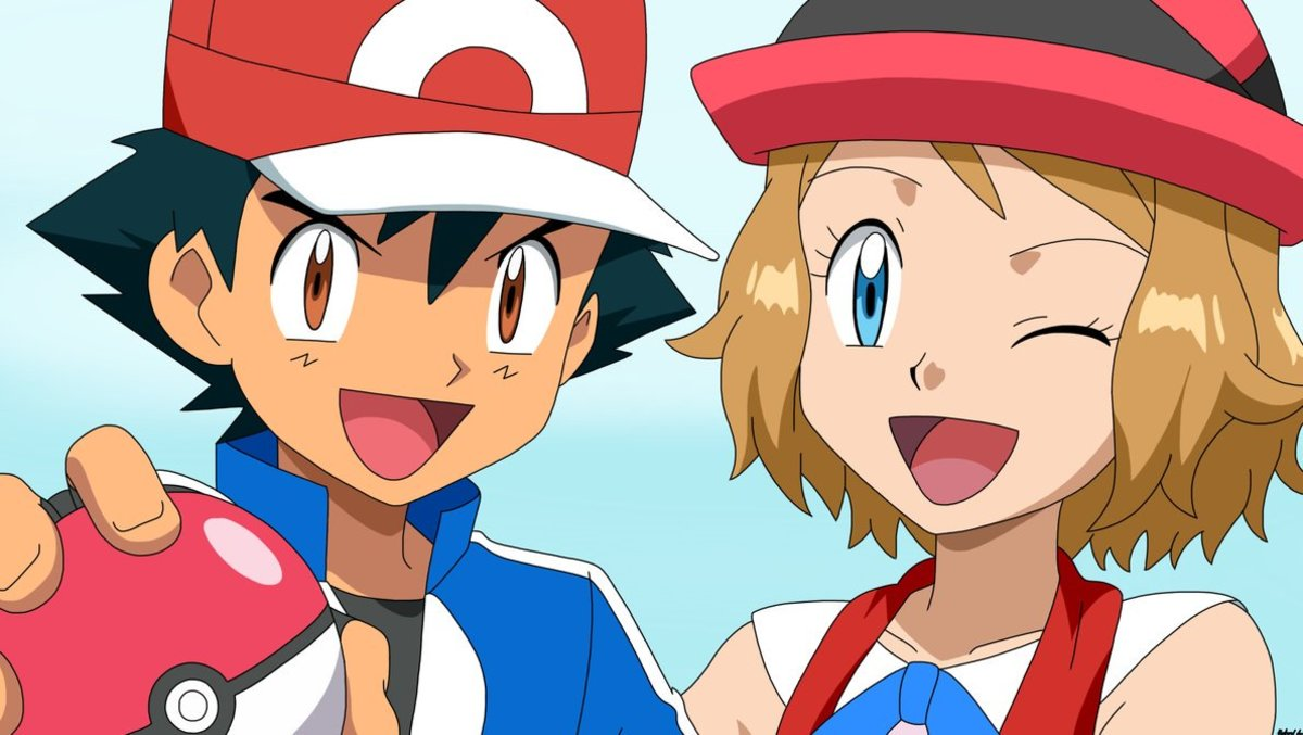 Ash and Serena