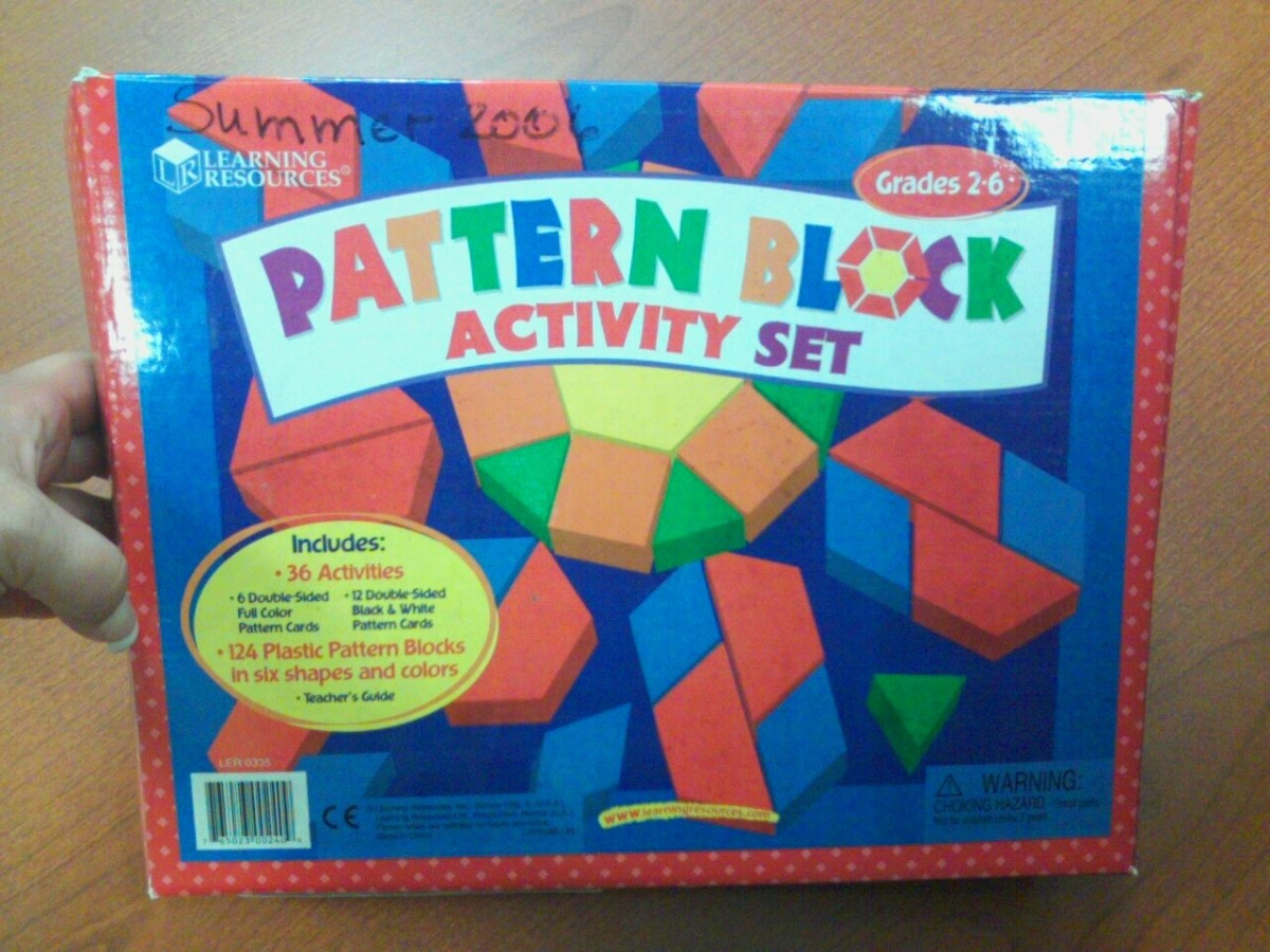 Patterns and puzzles are a common favorite of children in the autism spectrum.