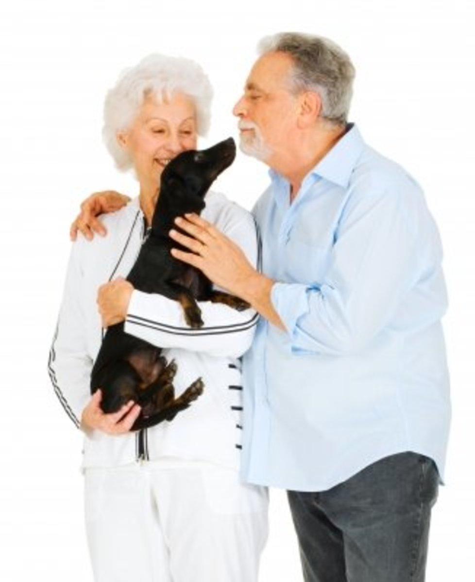 If you decide to embrace someone with dementia, opt for a shoulder to should embrace like above.  This avoids you getting too close or making them feel smothered and also puts you in a safer position in case of an unexpected aggressive outburst.