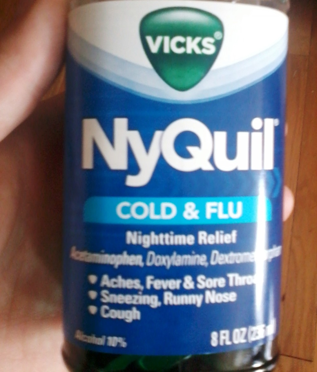 Acetaminophen is often hidden in cold medications like NyQuil.