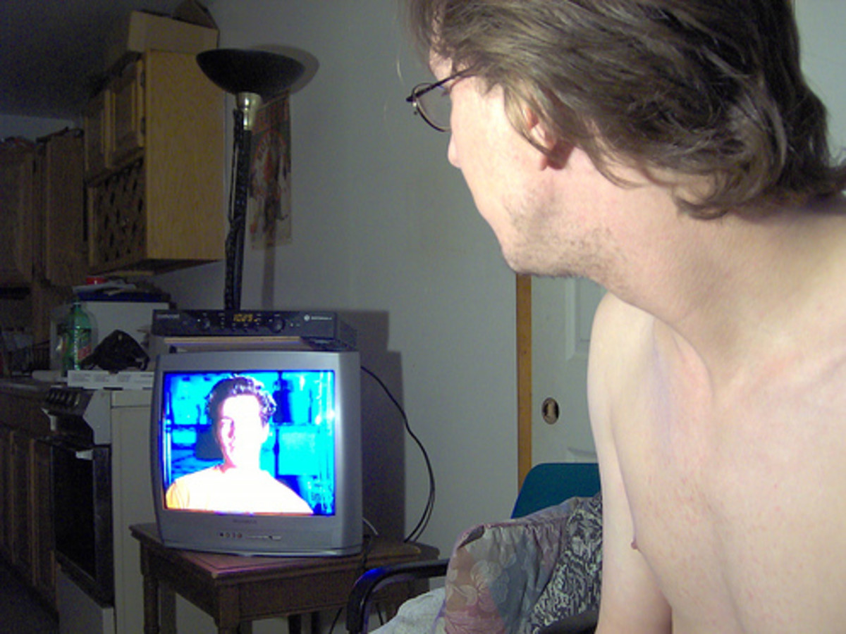 Psychosis- you may believe there are personal messages and information related to you on television