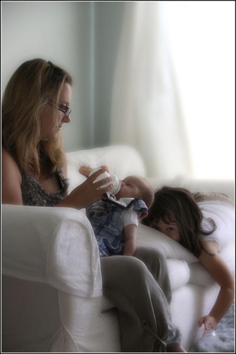 Pressure on depressed mums with children