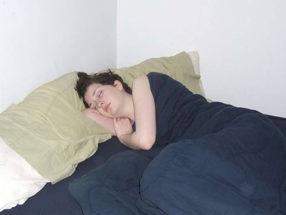 Depressed people can sleep a lot more than usual.