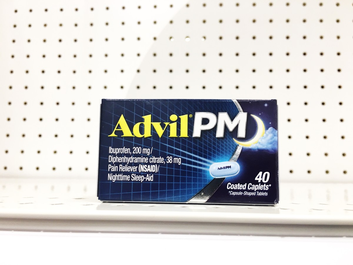 When should you take Advil PM?