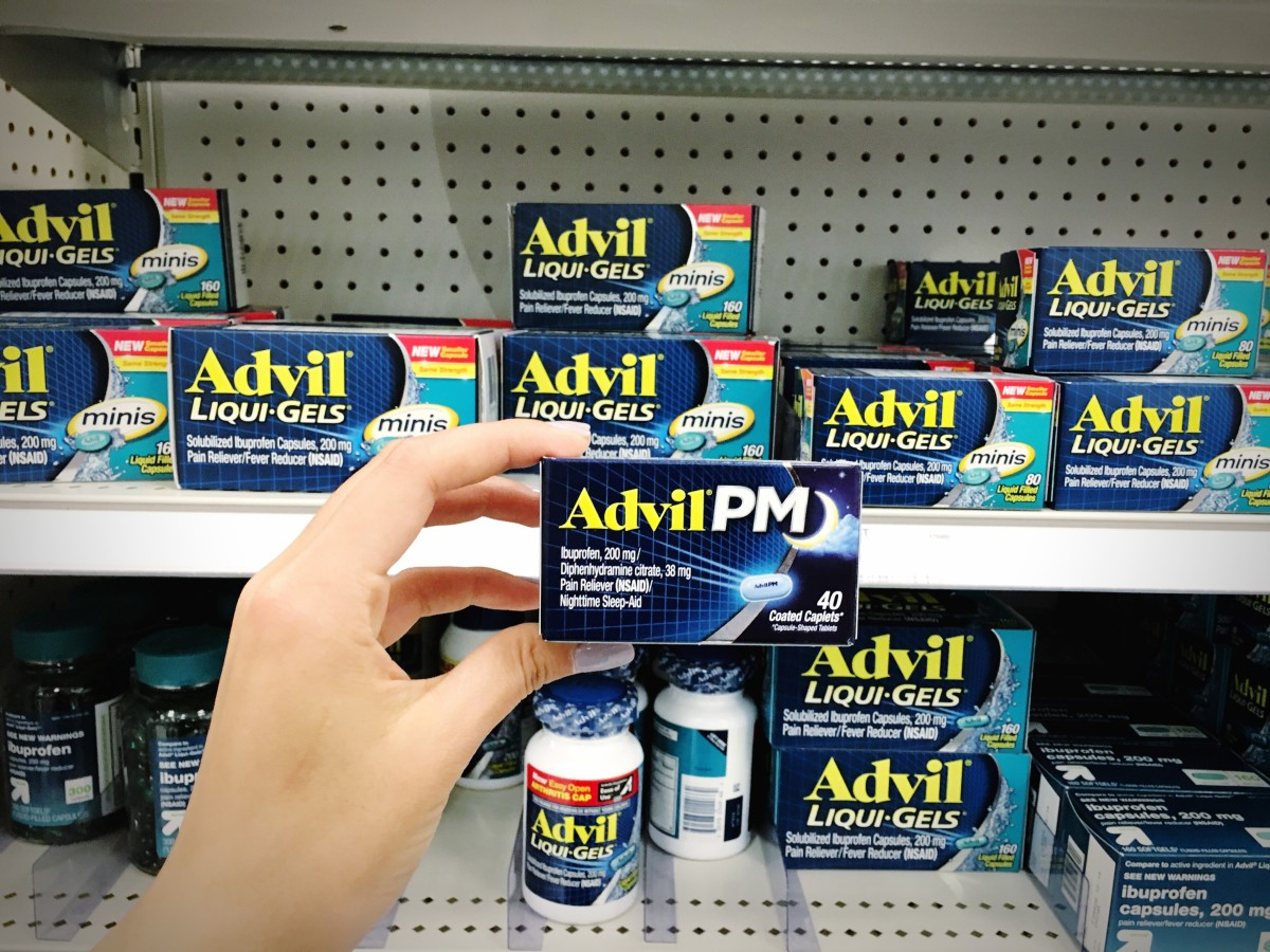 How does Advil PM work with your body?