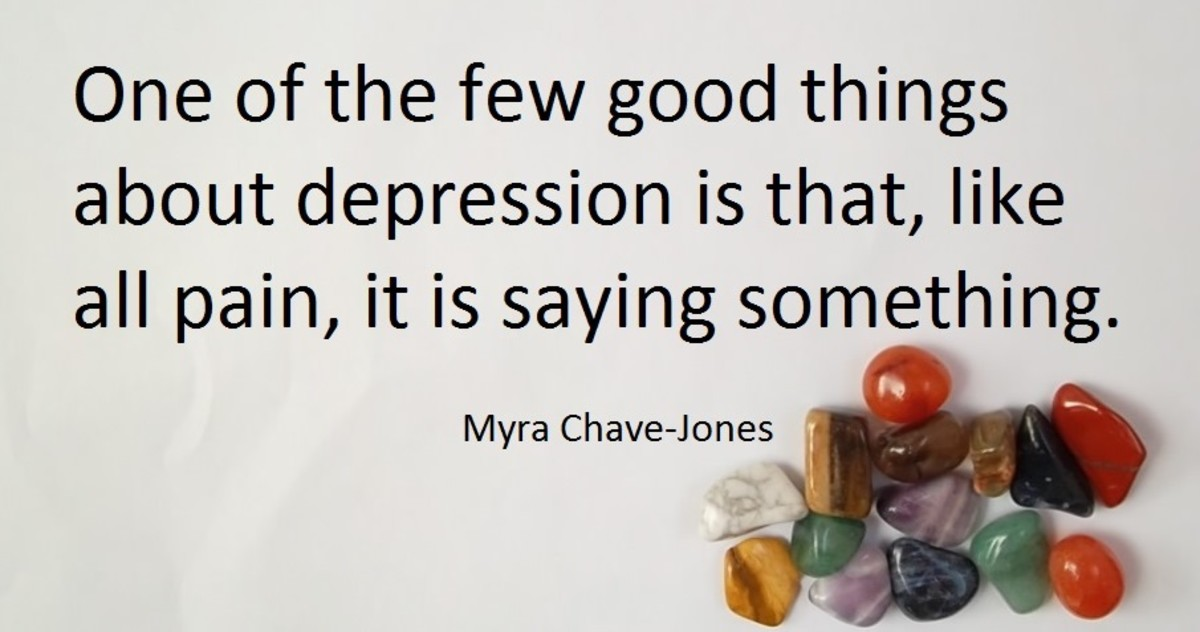 From the book: Coping with Depression by Myra Chave-Jones