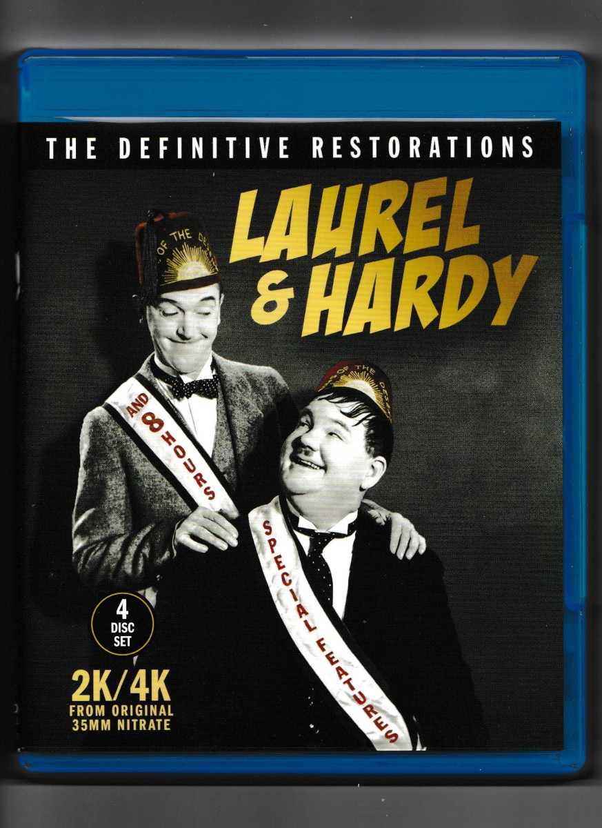 """""""Laurel & Hardy: The Definitive Restorations"""" Blu-ray Review"""