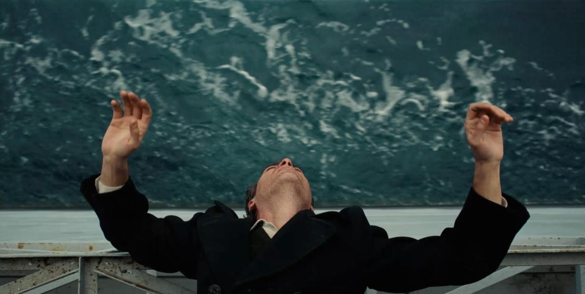 Joaquin Phoenix as 'Freddie Quell'