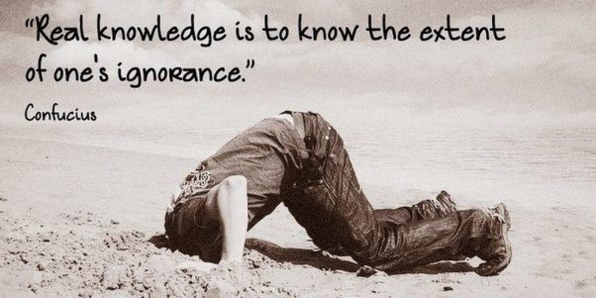 My Ignorance, by Manatita