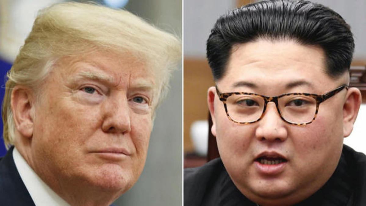 President Trump and Kim Jong-un
