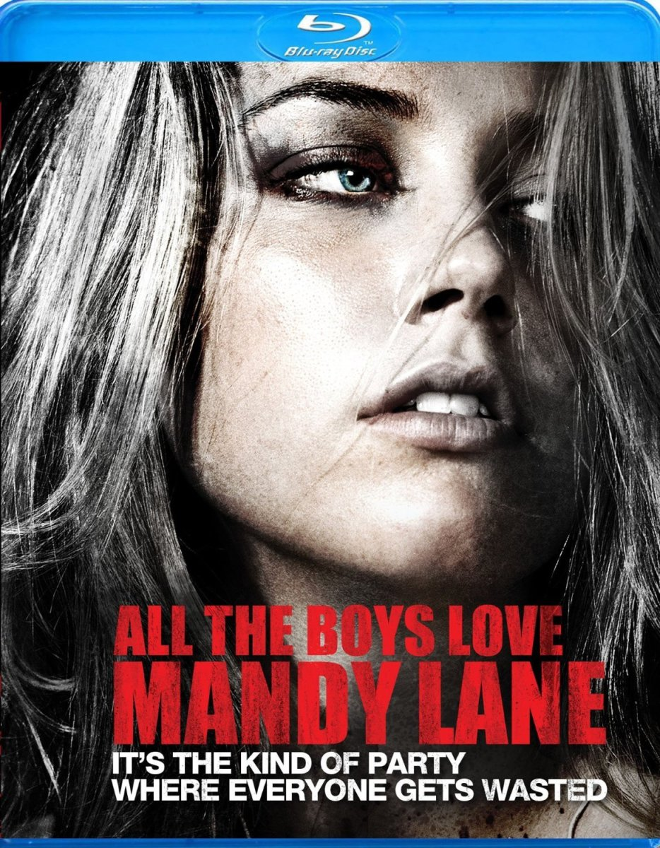 "The official Blu-ray cover for, ""All the Boys Love Mandy Lane."""