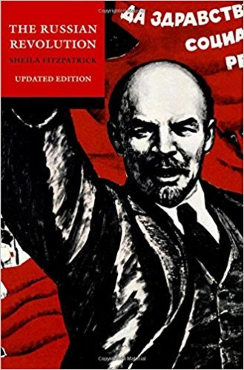 "Sheila Fitzpatrick's famous book, ""The Russian Revolution."""