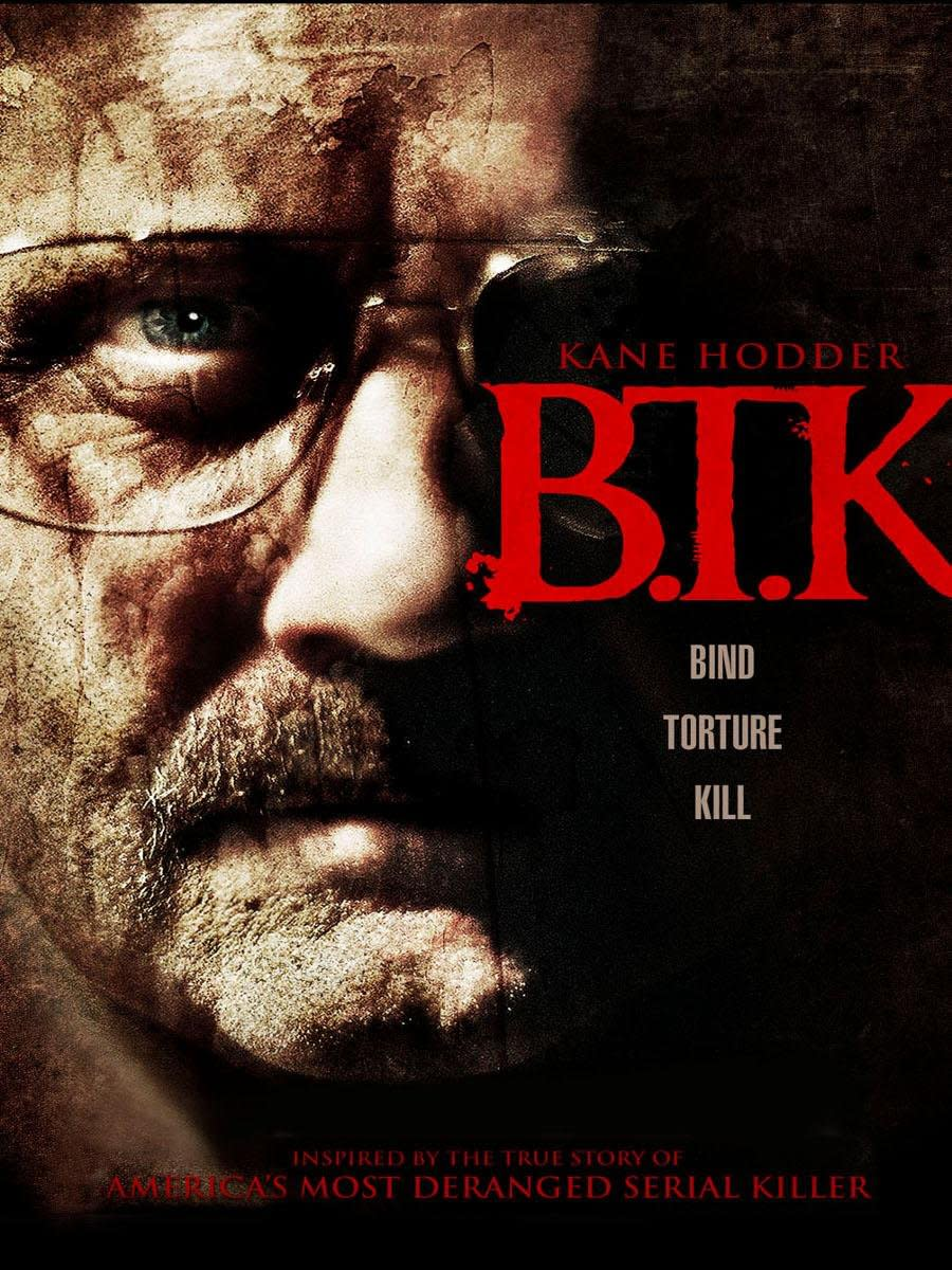 "The official DVD cover of, ""B.T.K."""