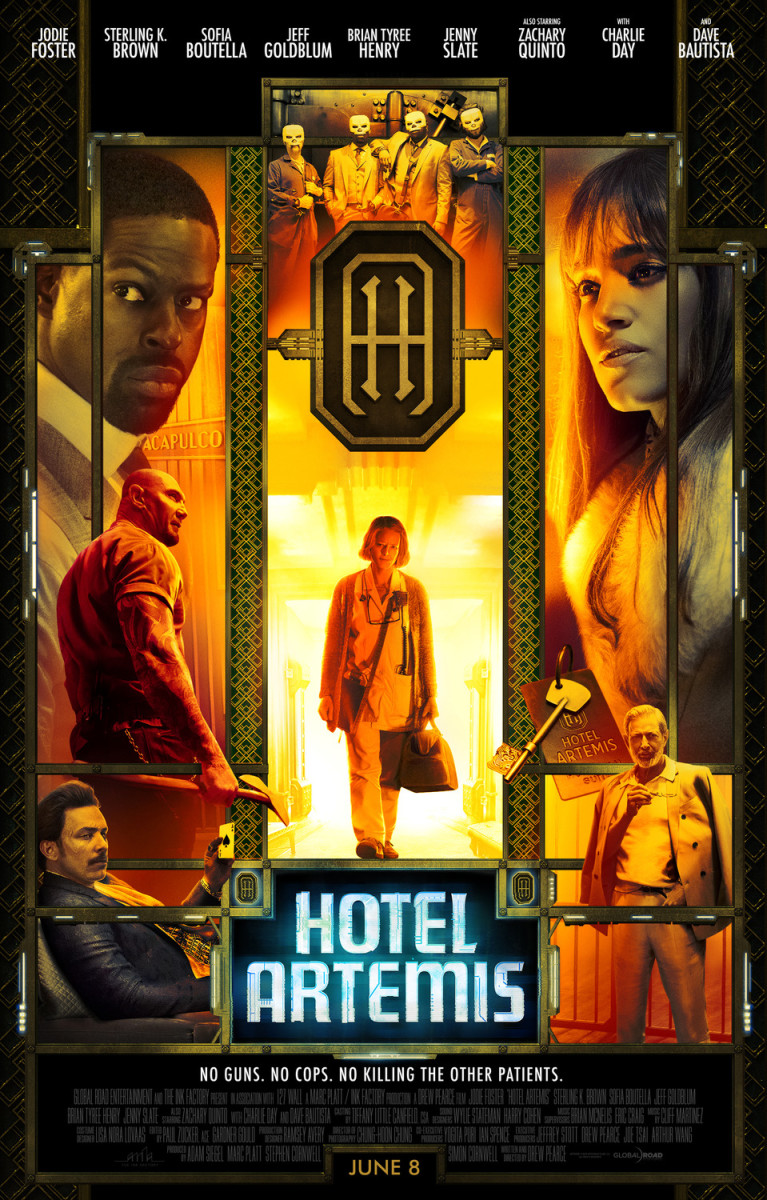"Movie Review: ""Hotel Artemis"""