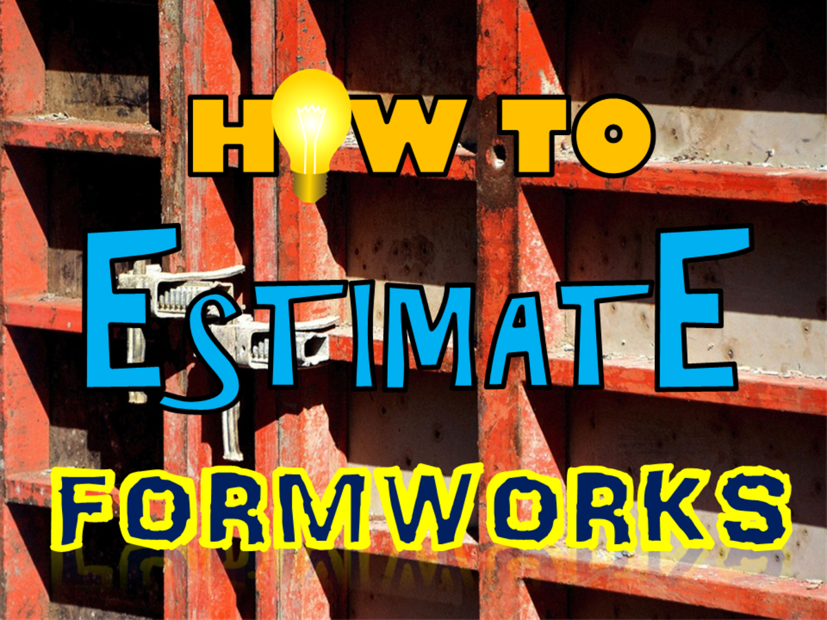 How to Estimate Formworks for Beams and Columns