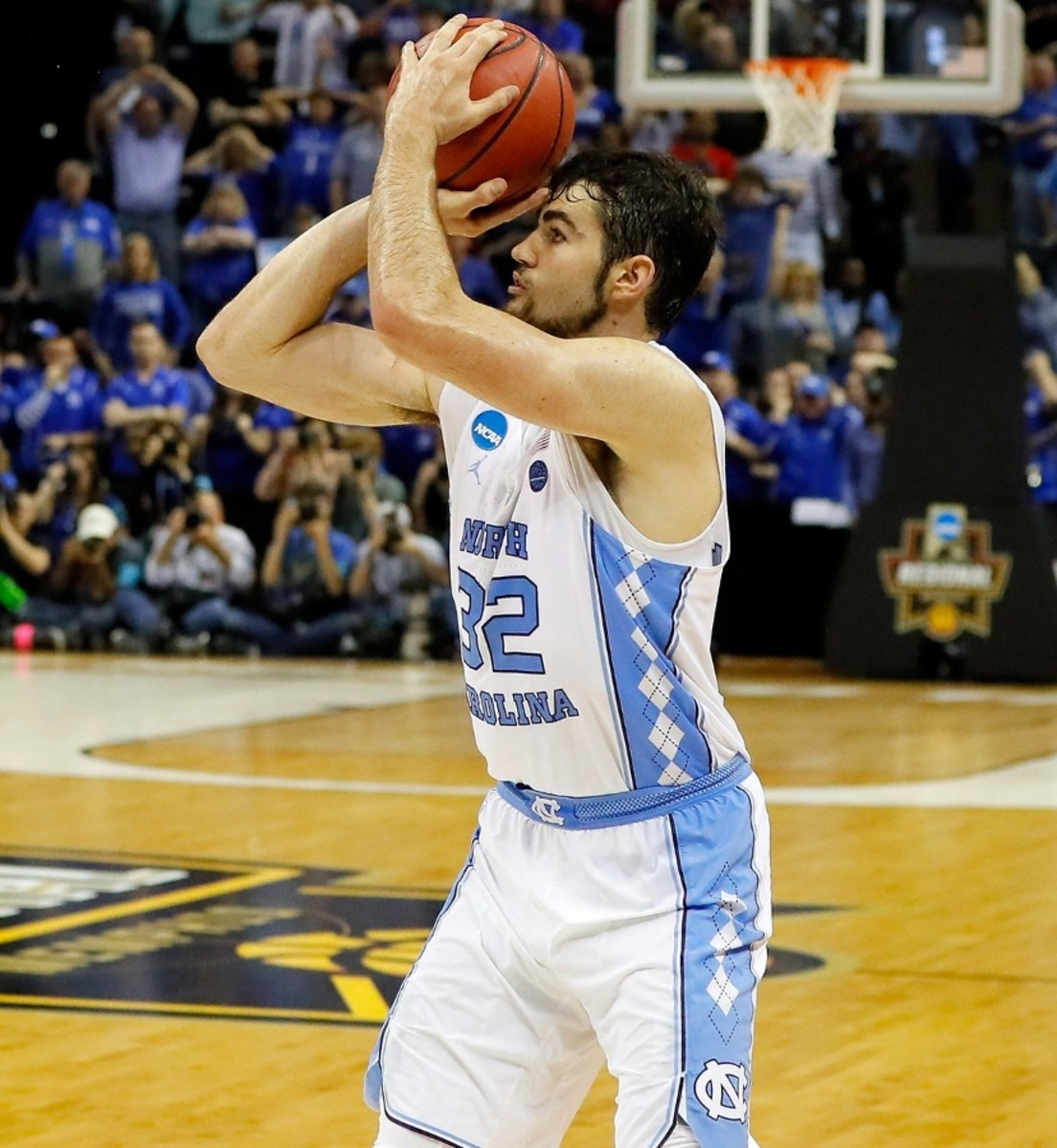 Please stop saying Luke Maye was a non-scholarship player; it's literally true, but more than a little misleading.  He was a 4 star recruit, not a walk-on.