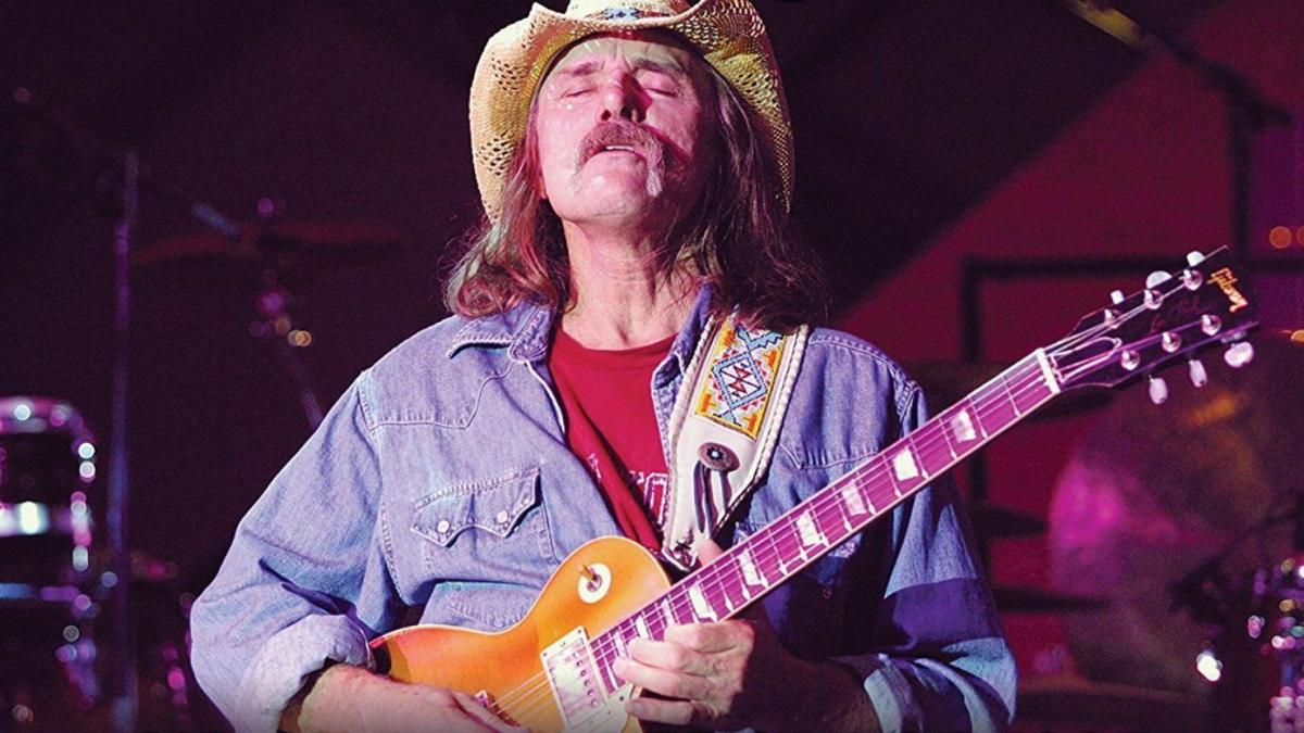 Dickey Betts and the Gibson Les Paul Goldtop