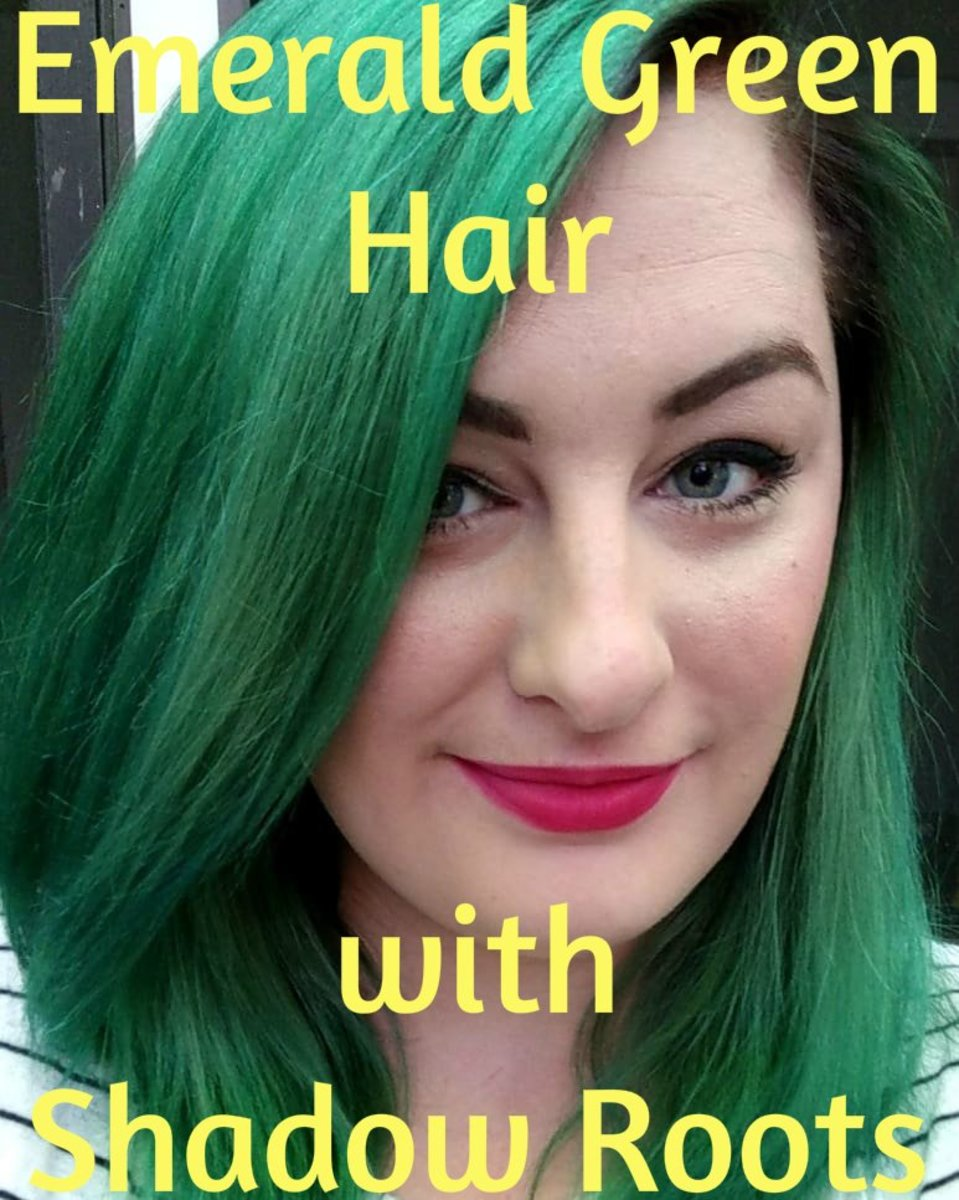 How to Dye Your Hair Emerald Green with Shadow Roots: A Review of One N Only Argan Oil Perfect Intensity Hair Color