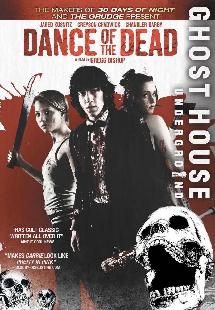 "The official DVD cover for, ""Dance of the Dead."""