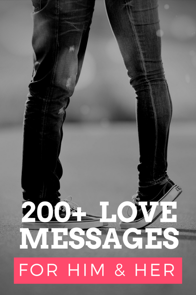 200+ Romantic Love Messages For Him & Her