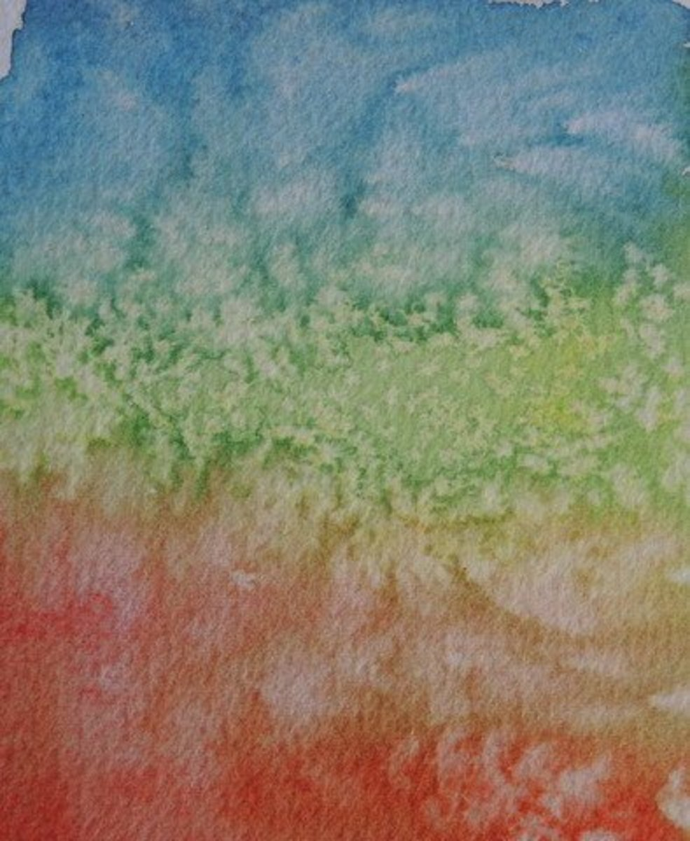 How to Add Texture to Your Watercolour Paintings