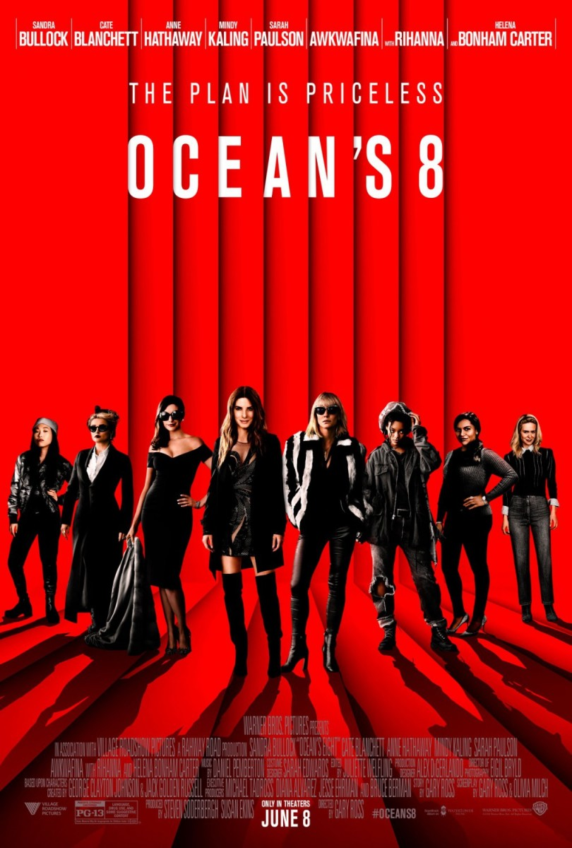 "Movie Review: ""Ocean's 8"""