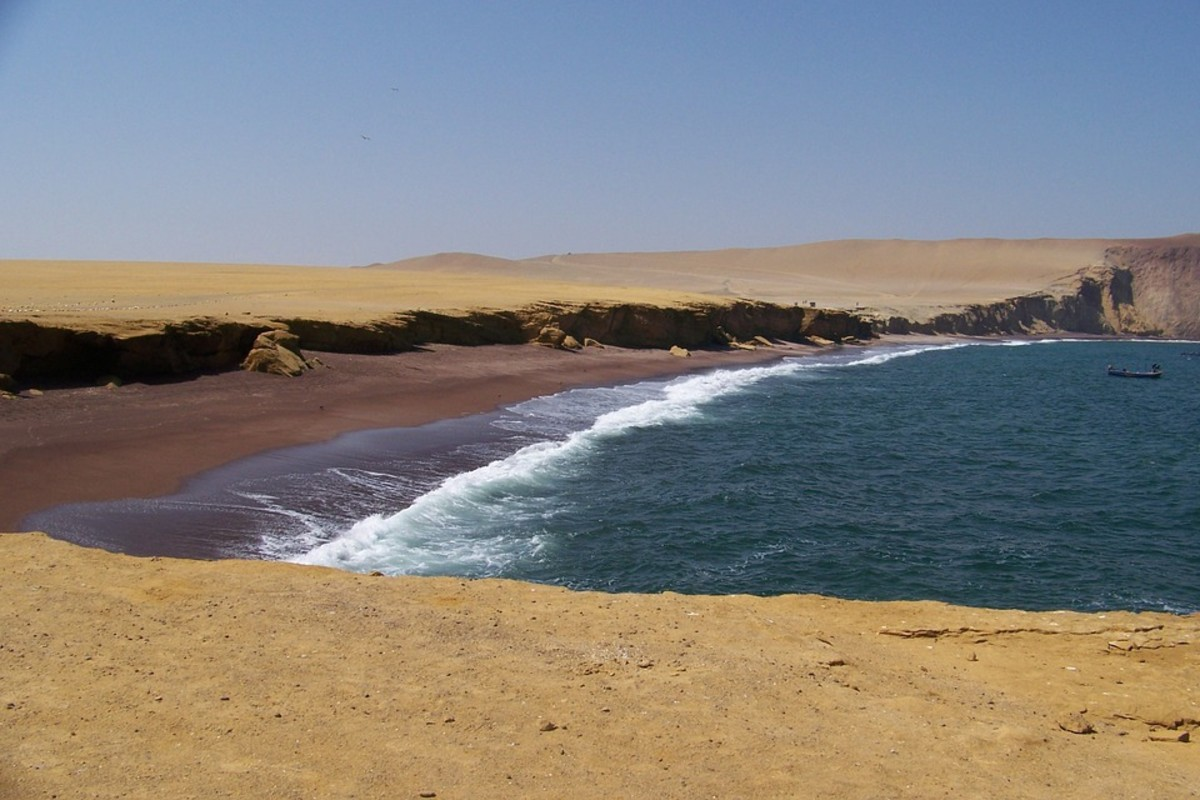 The Fable of the Sea and the Desert: Part 3 - Where the Desert Meets the Sea