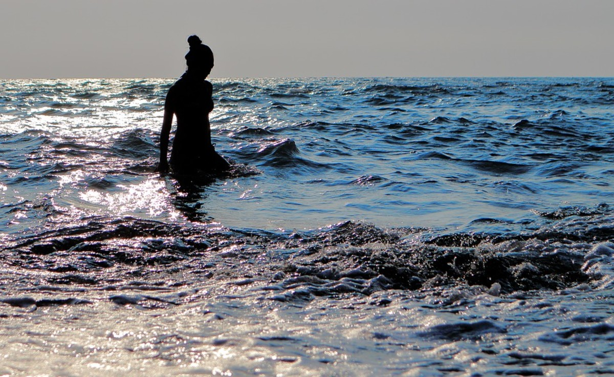 The girl from the sea longs, once again, for the freedom of the sea.