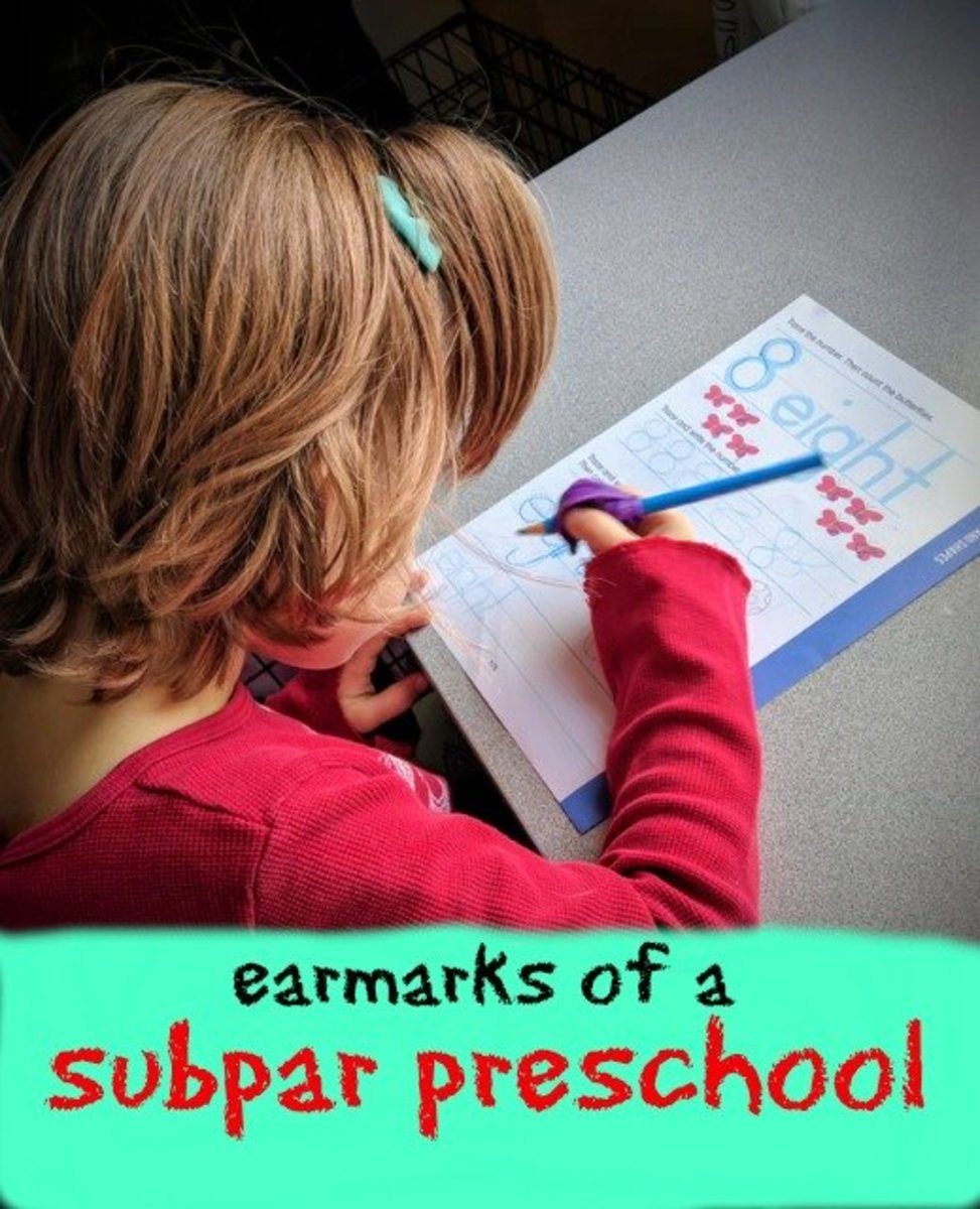 Parents should be wary of paper-pencil tasks, long circle times, computers, and an academic focus.