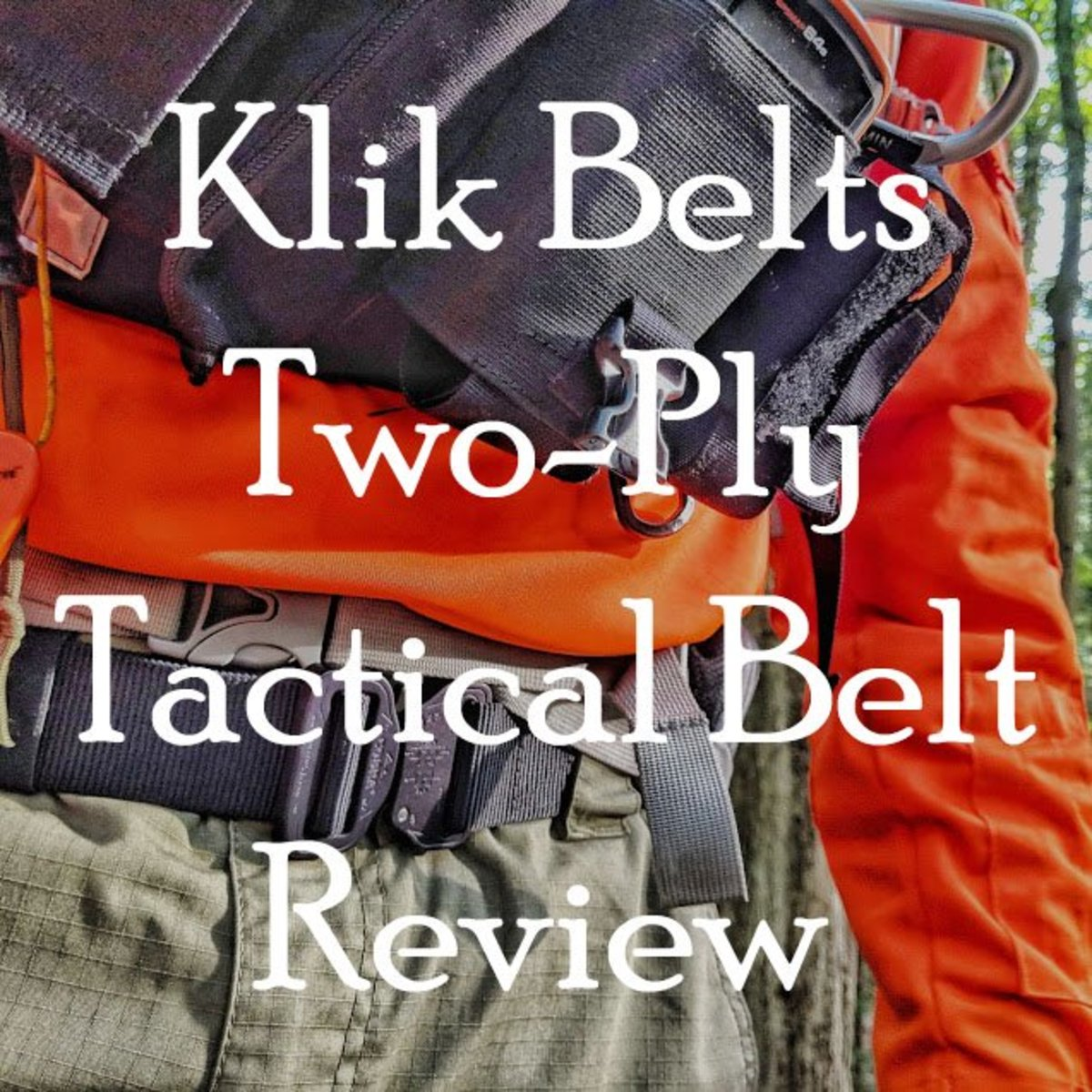 Klik Belts 2-Ply Tactical Search and Rescue Belt Review