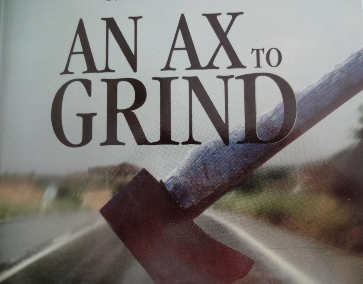 An Ax to Grind by Frank F. Atanacio, Book Review