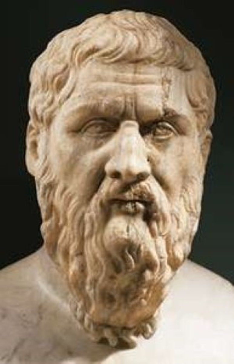 "Plato's ""Theory of the Forms"" explained."