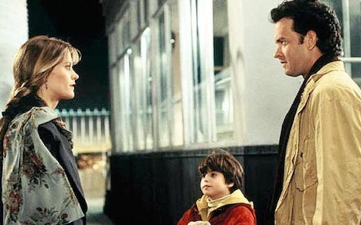 "Final scene of ""Sleepless in Seattle"""