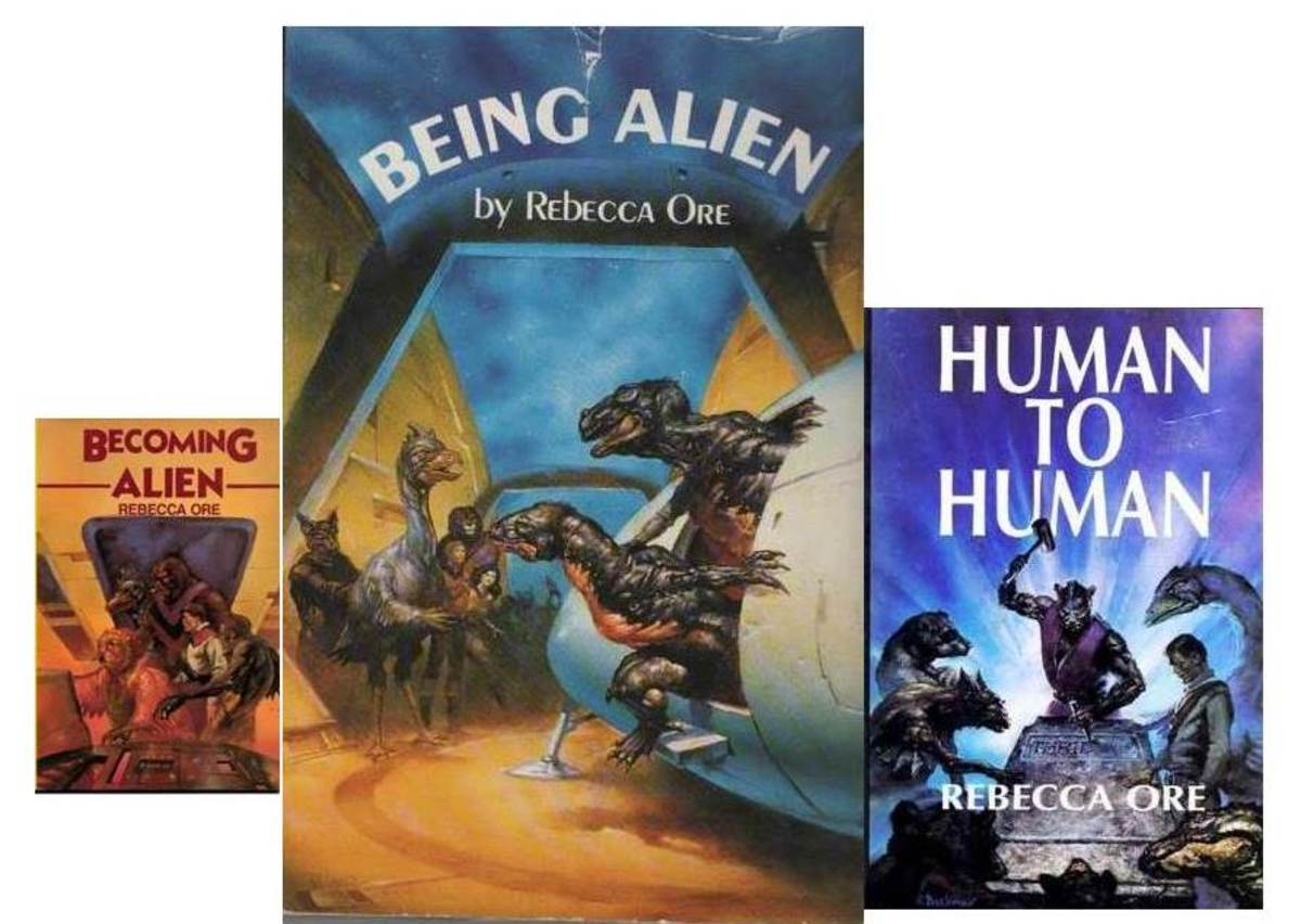 "The ""Becoming Alien"" series by Rebecca Ore"