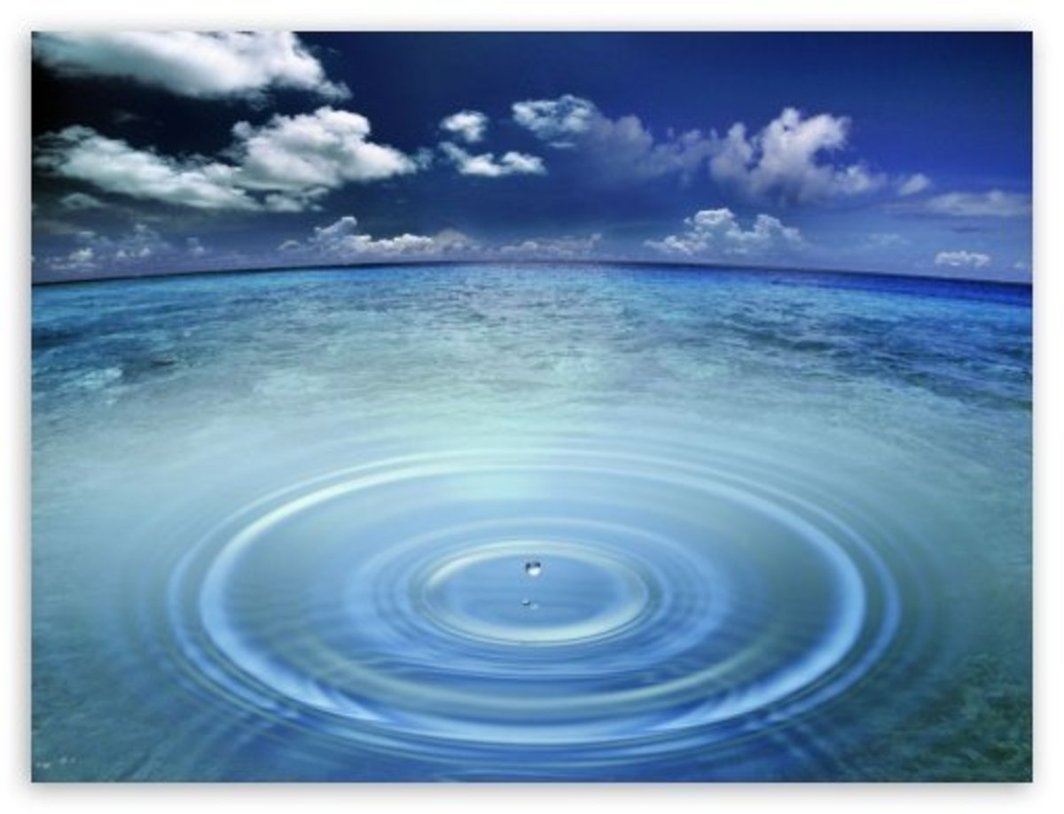 A Droplet in This Ocean of the Unknown
