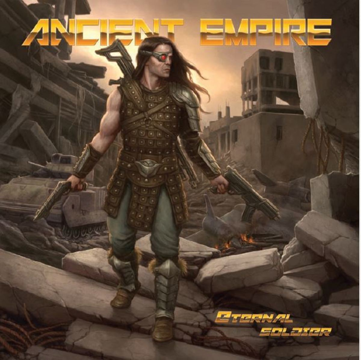 """Eternal Soldier"" CD cover"