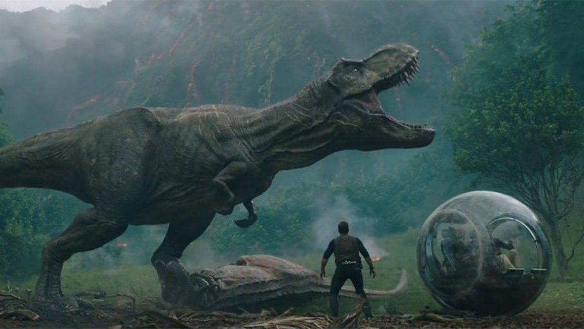'Jurassic World: Fallen Kingdom' Review (2018)
