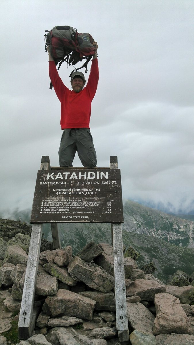 Dan finished the Appalachian Trail on Sunday, July 22, 2018.