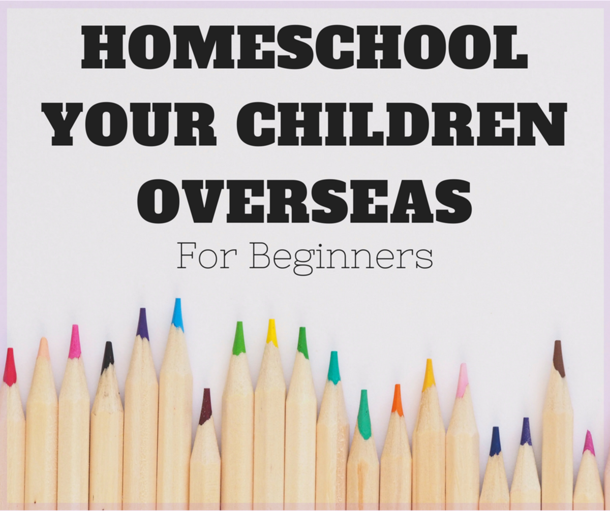Yes, you can homeschool overseas.