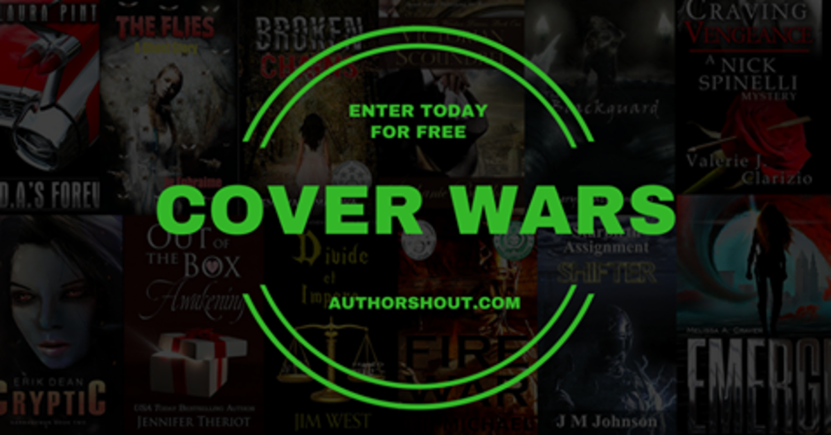 Participating in Author Shout Cover Wars