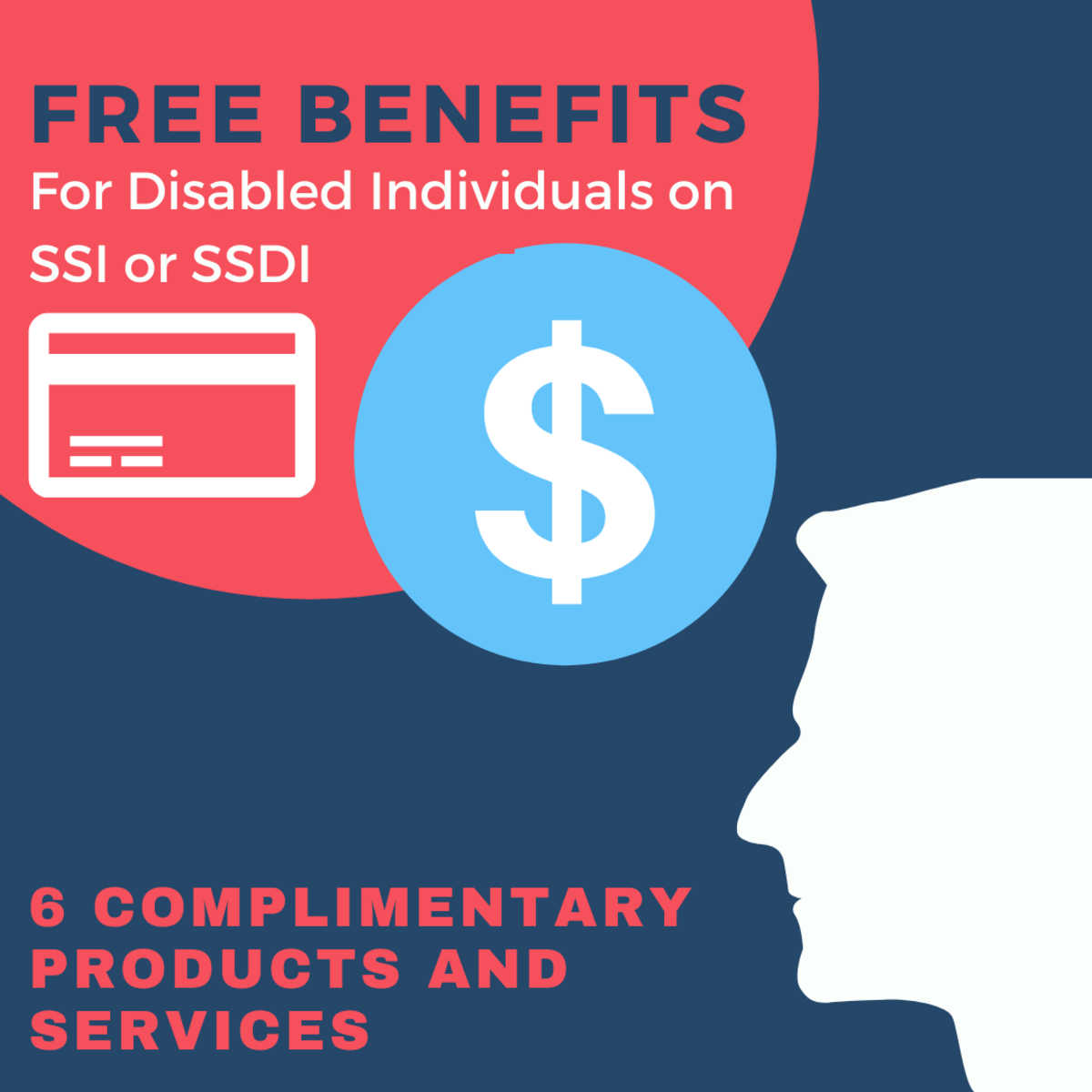 6 Freebies for Disabled People on SSI or SSDI