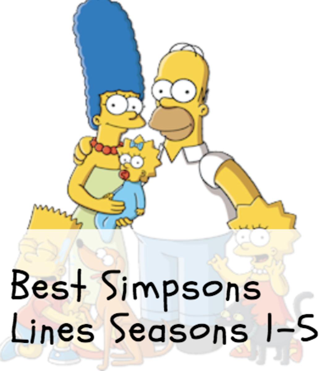 Best Simpsons Quotes Seasons 1-5
