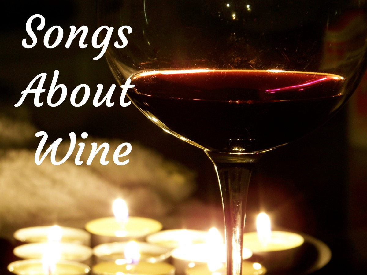 Celebrate the popularity of wine with a playlist of pop, rock, country, and hip-hop songs on the subject. Whether you prefer chardonnay, merlot, cabernet sauvignon, pinot noir, or something else, wine has never been more popular.