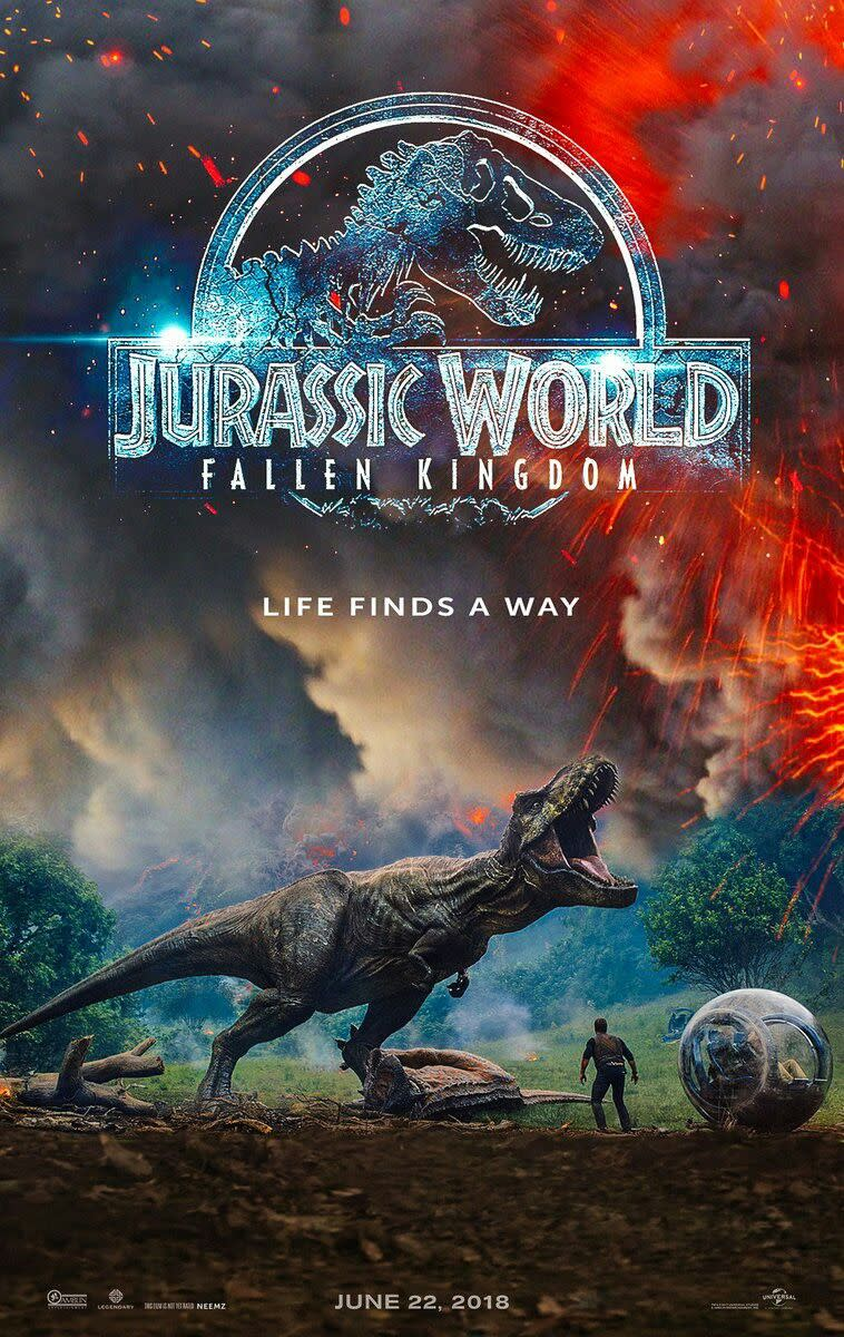 New Review: Jurassic World: Fallen Kingdom (2018)