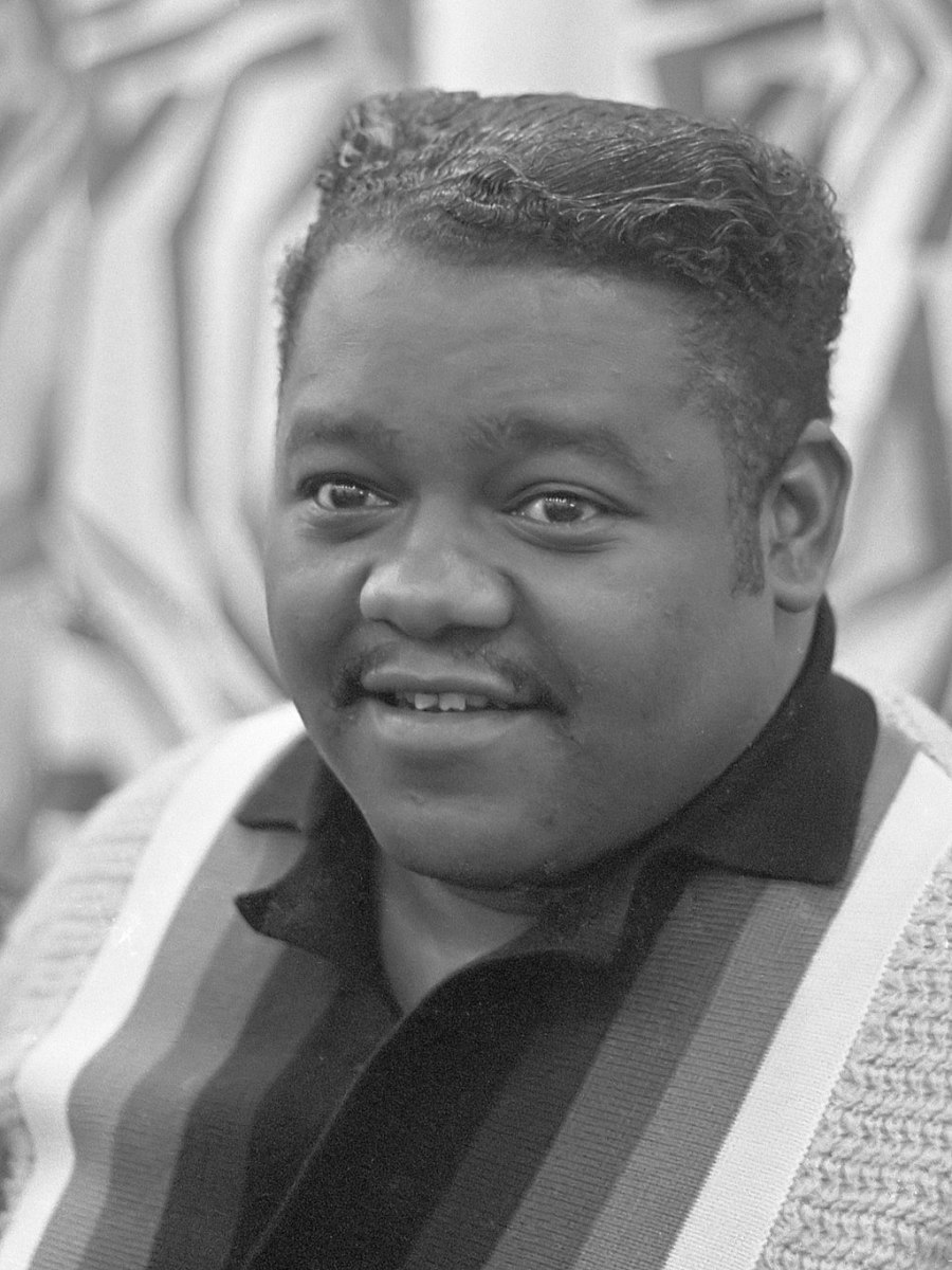 This is Fats Domino, He was grandmother, Patsy Aycock's favorite singer, even though she was born shortly after the Civil War ended.
