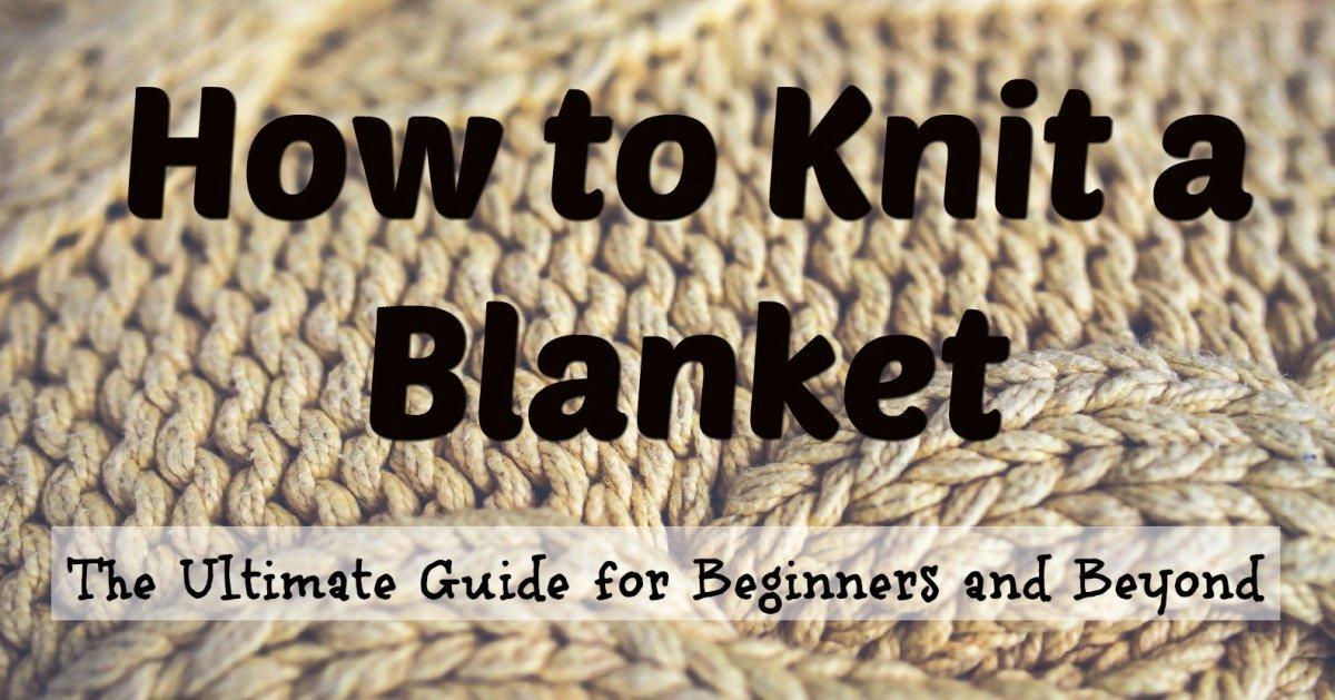 KNITTING FOR BLANKET ~ EASY KNIT IDEAL FOR BEGINNER V157